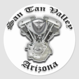 Valle Arizona - motor del moreno de San de la Pegatina Redonda
