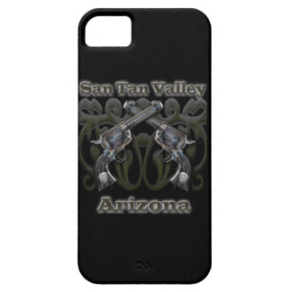 Valle Arizona - revólveres del moreno de San iPhone 5 Carcasa