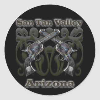 Valle Arizona - revólveres del moreno de San Pegatina Redonda