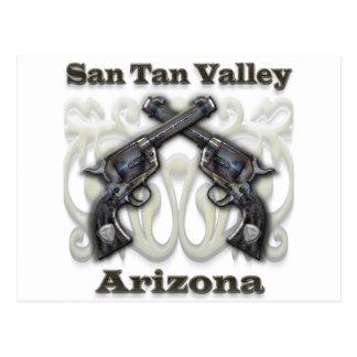 Valle Arizona - revólveres del moreno de San Postales