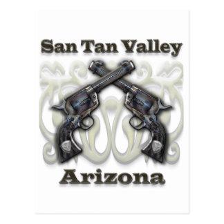 Valle Arizona - revólveres del moreno de San Tarjeta Postal