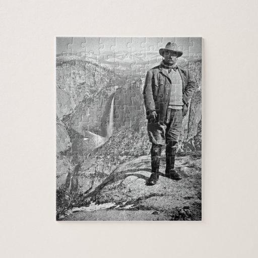 Valle CA de Yosemite del punto del glaciar de Tedd Puzzle Con Fotos