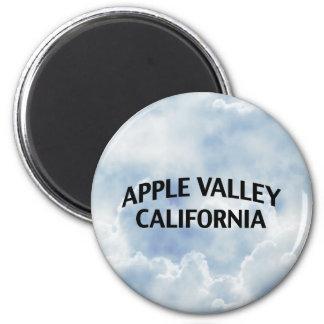 Valle California de Apple Imán Redondo 5 Cm