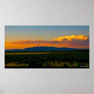 Valle California de Modoc Impresiones