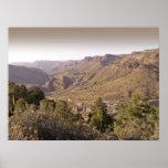 Valle cerca de Velarde New México - poster