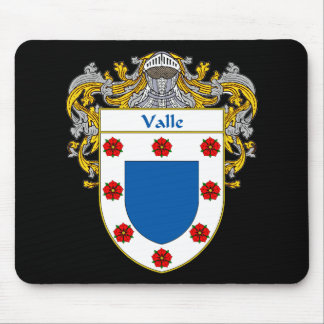 Valle Coat ofArms (Mantled) Mouse Pad