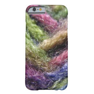 Valle colorido del hilado funda de iPhone 6 barely there