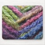 Valle colorido del hilado tapetes de raton
