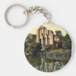 Valle Crucis Abbey, Llangollen, Wales rare Photoch Keychain