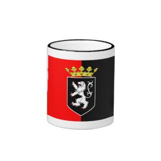 Valle d'Aosta flag Ringer Coffee Mug