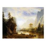Valle de Albert Bierstadt Yosemite Postal