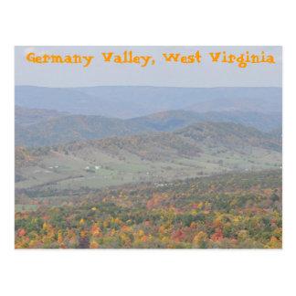 Valle de Alemania, Virginia Occidental Tarjetas Postales
