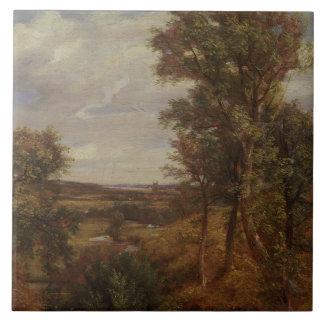 Valle de Dedham 1802 aceite en lona Azulejo