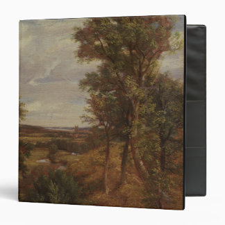 Valle de Dedham 1802 aceite en lona