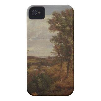 Valle de Dedham 1802 aceite en lona iPhone 4 Cárcasa