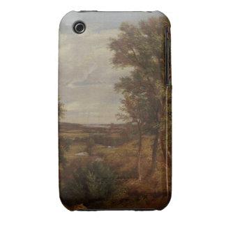Valle de Dedham 1802 aceite en lona iPhone 3 Case-Mate Protectores