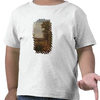 Valle de Dedham 1802 aceite en lona Camiseta