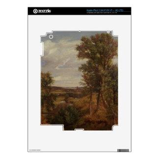 Valle de Dedham 1802 aceite en lona Pegatinas Skins Para iPad 3