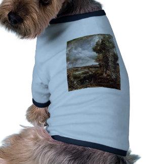 Valle de Dedham de John Constable (la mejor calida Camiseta De Mascota