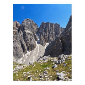 Valle de Dolomiti - de Piz DA Lech y de Mezdi Postal