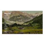 Valle de Engelberg, montaña de Arni, Bernese Oberl Tarjetas De Visita