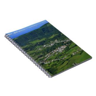 Valle de Furnas - Azores Cuaderno