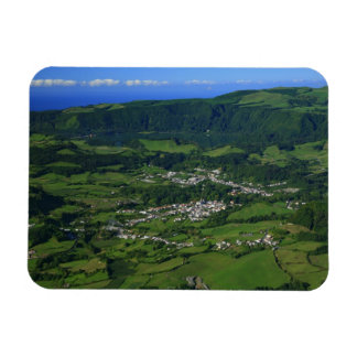 Valle de Furnas - Azores Imán De Vinilo