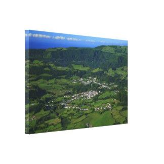Valle de Furnas - Azores Impresión En Lienzo