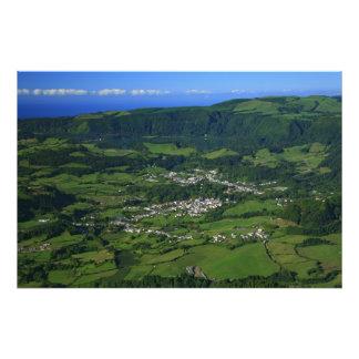 Valle de Furnas - Azores Impresion Fotografica