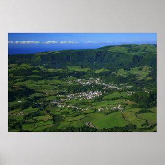 Valle de Furnas - Azores Póster