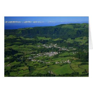 Valle de Furnas - Azores Tarjeta De Felicitación