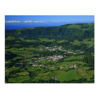 Valle de Furnas - Azores Tarjeta Postal