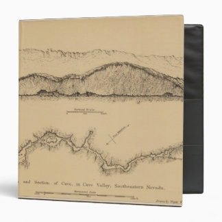 "Valle de la cueva, Nevada Carpeta 1 1/2"""