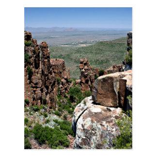 Valle de la desolación, Suráfrica Tarjeta Postal