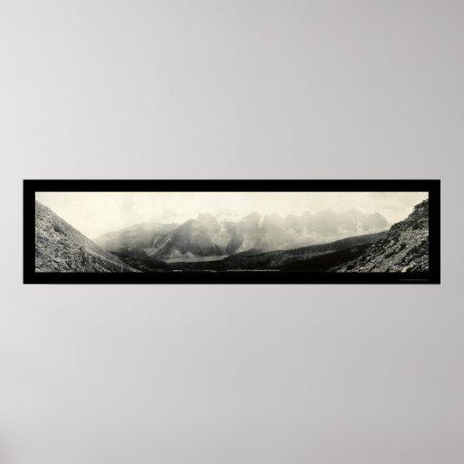 Valle de la foto 1907 de 10 picos posters
