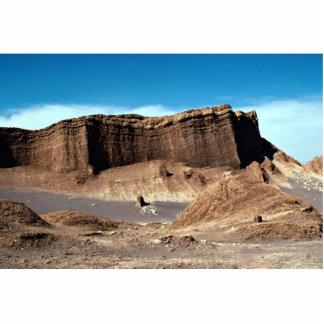 Valle de la luna, desierto de Atacama, desierto de Fotoescultura Vertical