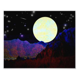Valle de la luna arte con fotos