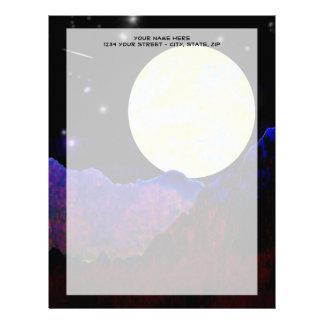 Valle de la luna membrete a diseño