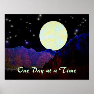 Valle de la luna ODAT Póster