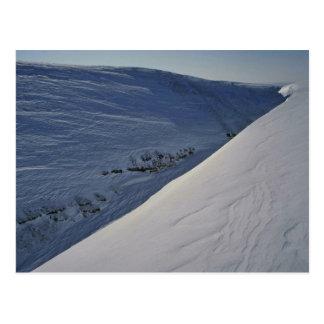 Valle de la nieve postales