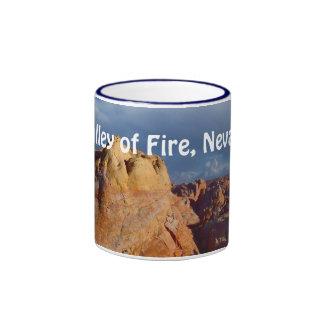 Valle de la taza de Nevada del fuego