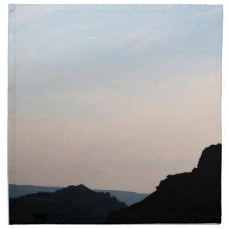 Valle de las rocas Devon Reino Unido Servilleta