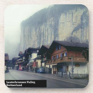 Valle de Lauterbrunnen, Suiza - el práctico de Posavasos