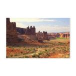 Valle de los arcos impresión en lienzo estirada