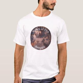 Valle de Nevada de la camisa del petroglifo del