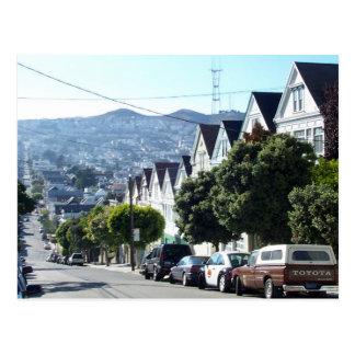 Valle de Noe, San Francisco, CA Tarjeta Postal