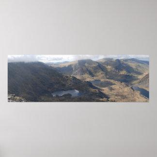 Valle de Ogwen, poster de Snowdonia