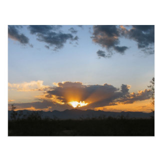 Valle de oro de la salida del sol, AZ. 9-11-08-1 Tarjetas Postales