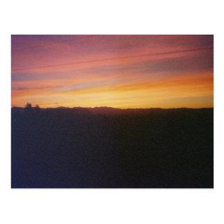 Valle de oro, salida del sol de Arizona Tarjetas Postales