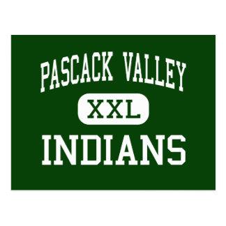 Valle de Pascack - indios - alto - Hillsdale Postal